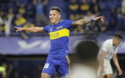 Fabra y el empate parcial. Arriesgando, Boca venció al Godoy Cruz de Flores, que perdió por primera vez desde que llegó a Argentina.