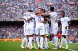 Real Madrid festejó en el Camp Nou.