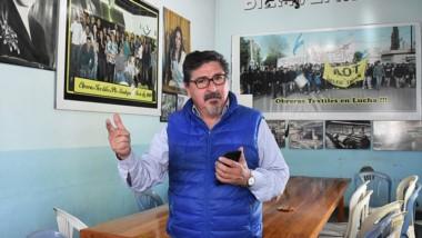 """Sergio Cárdenas, secretario general de la AOT y  un mensaje esperanzador. """"Hay una leve recuperación""""."""