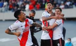 El grito de Enzo: así festejó el primero de Julián Álvarez para River ante Boca.