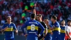 Hay mucha bronca en Boca por el arbitraje de Rapallini. Sienten que condicionó el partido por la expulsión de Rojo.
