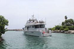 A casi una semana de desaparecer el yate Moi Guadalupe, no desiste la búsqueda, se ha ampliado desde las costas de Nicaragua hasta el Canal de Yucatán.