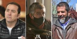 Correa, Suárez y Lüters, tres exfuncionarios con condenas de prisión efectiva.