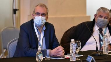 El ministro de Salud durante la reunión que se hizo del COFESA.