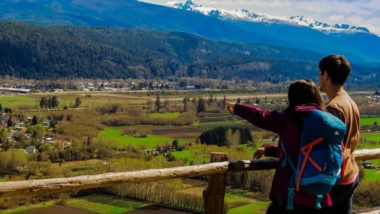 Cerro Amigo. Uno de los miradores con vista al maravilloso valle de El Bolsón para disfrutar estos días.