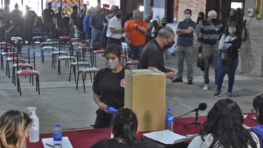 Las elecciones en el Cuartel de Bomberos de Trelew se llevaron con total normalidad y la participación de dos listas.
