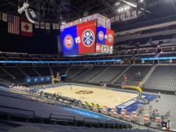 El partido que debían disputar Denver Nuggets y Detroit fue aplazado a último momento debido a un resultado no concluyente en un jugador de los Pistons.