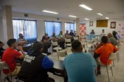 Esta fue la primera reunión de la Liga del Valle en la sede liguista después de un año.