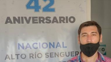 Orlando Andrés Vera, convencional de la Unión Cívica Radical.