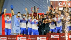 Fernando Zampedri, Luciano Aued, Diego Buonanotte, Matías Dituro y Gastón Lezcano son los otros argentinos que festejaron el tricampeonato.