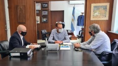 Cumbre con Sastre y Arrieta, administrador general de Vialidad.