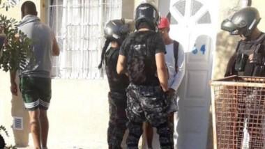 Los dos delincuentes fueron detenidos por efectivos del G.R.I.M.
