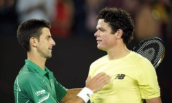 El triunfo de Djokovic ante Raonic puso al serbio aún más alto en la historia del tenis.