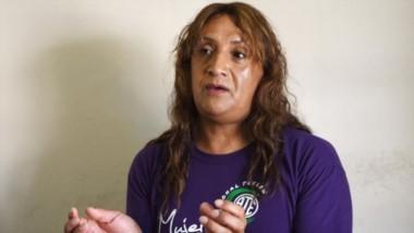 """Marcela Colil habló de todo con Jornada. Es delegada en ATE Trelew. Por primera vez una mujer trans tiene un cargo sindical. """"Me valoraron""""."""