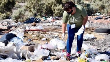 Incumplidores. En febrero hubo mucho trabajo para quienes controlan la limpieza en el Valle Inferior.