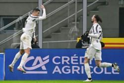 Con doblete de Cristiano Ronaldo, Juventus venció 2-1 al Inter en la semifinal de ida.