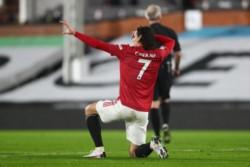 Cavani hizo un gol para el United en histórica goleada ante Southampton por 9-0.