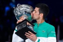 Djokovic está a dos títulos de Grand Slam de igualar a Roger Federer y a Rafael Nadal.