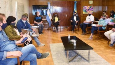 Ayer cerca de 21 terminó la última reunión con los docentes, donde también aprobaron los protocolos.