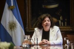 La ministra de Salud, Carla Vizzotti, anunció hoy el comienzo de la campaña de vacunación para el personal docente.