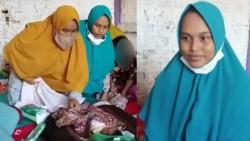 """Siti Zainah, una joven de 25 años, asegura haber quedado embarazada porque una """"ráfaga de viento se coló entre sus piernas""""."""