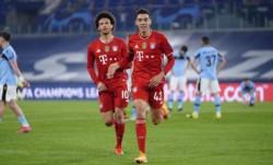 Bayern Munich dio un golpe sobre la mesa en el Olímpico de Roma.