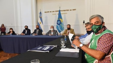 Luego de una primera visita a Chubut, el ministro de Educación de la Nación, Nicolás Trotta, estuvo para sellar en el acta el acuerdo para el inicio de las clases en Chubut.