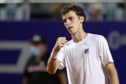 Cerúndolo tiene 19 años. Es el finalista argentino más joven desde Chucho Acasuso en 2001 (18 años).