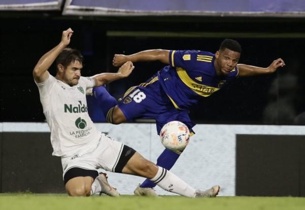 Boca no pudo con Sarmiento y sigue sin ganar en la Bombonera