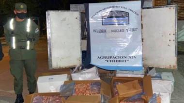 Los productos del mar fueron incautados por falta de permisos.