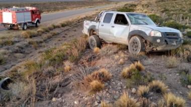 El siniestro vehicular se produjo en horas de la madrugada en inmediaciones al acceso de una estancia.