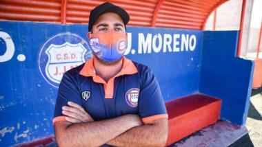 Andrés Iglesias, técnico de J.J. Moreno,  brindó su parecer sobre el regreso del fútbol de la Liga del Valle.
