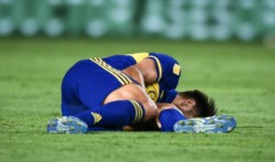 Boca informó en su parte médico oficial que Salvio sufrió la ruptura del ligamento cruzado anterior de la rodilla izquierda.