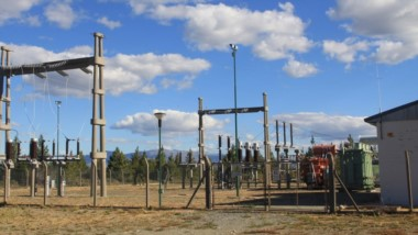"""La subestación """"El Coihue"""", es el nodo central para la energía en el Noroeste de la provincia del Chubut."""