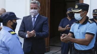 Lidia Castro, tras su ascenso, relató el operativo en la cordillera.