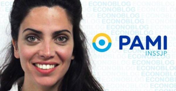La directora ejecutiva de PAMI, Luana Volnovich.