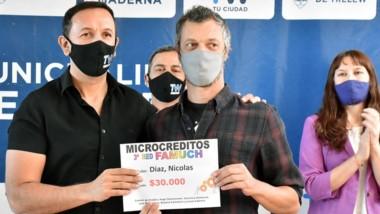 Maderna destacó la solidaridad que mostraron los trelewenses.