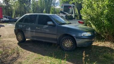 El auto VW Gol había sido sustraido en Trelew y quedó secuestrado