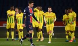 PSG y otra derrota durísima: 1-2 ante Nantes, que venía penúltimo.