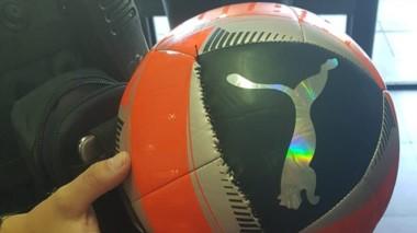 La droga en el interior del balón fue detectada en la terminal local.