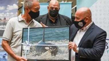 Juan Carlos López, fue pionero en el trabajo de identificación de orcas.