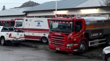 La cobertura del incendio en la Comarca dejó al descubierto muchas necesidades en los cuarteles.