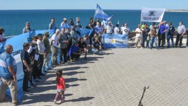 La ceremonia se realizó en las inmediaciones del Ecocentro.