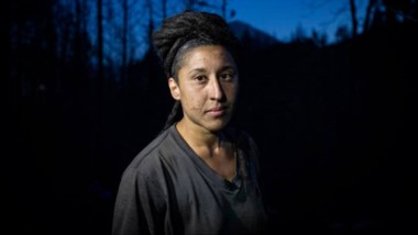 Testimonio crudo desde la Comarca Andina. Nadia, protagonista del incendio, en cuerpo y alma.