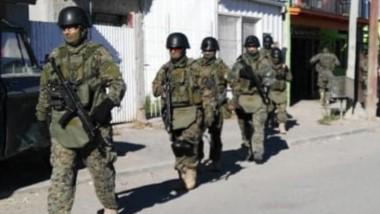 El operativo policial guarda relación al robo de $60 mil el sábado 20.