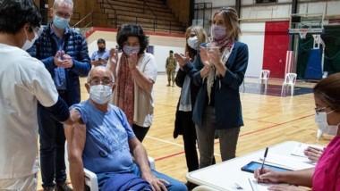 Continúa la campaña de vacunación en distintas localidades de Chubut.