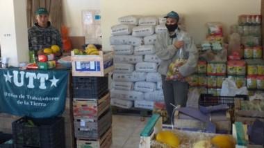 En marcha. Las familias de la Comarca Andina tienen a su disposición alimentos cooperativos.