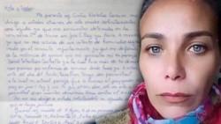 Cintia Natalia Caruso se encuentra viviendo un calvario: quedó detenida por defenderse de su ex pareja.