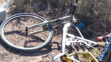 Tras golpear a un familiar, el joven robó una bicicleta que recuperaron