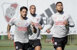 Otra nueva jornada de entrenamiento para el plantel de Gallardo.